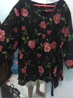 Kimono flower | casual wear top