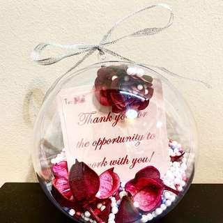 Personalised gift with personalised message!