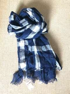 Muji French Linen Cotton Silk scarf 🧣