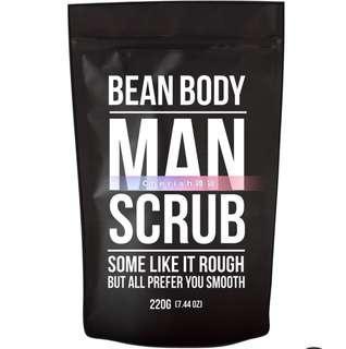 Bean body 咖啡豆身體磨砂膏男士系列