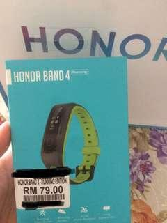 ORIGINAL HONOR BAND 4 running