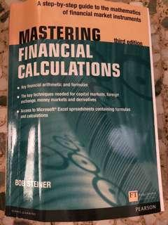 Mastering Financial Calculations - Bob Steiner (3rd Edition)
