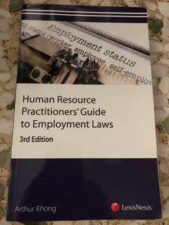 Human Resource Practitioners' Guide to Employment Laws 3rd Edition