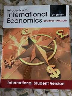 Introduction to International Economics - Dominick Salvatore (3rd Edition)