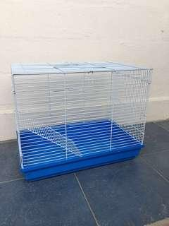 Like New Large Blue Hamster Cage