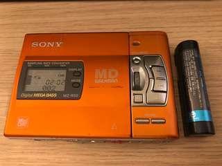 Sony MD Walkman MZ-R50 橙色