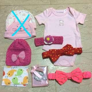 ($12forAll) BNIP 7PC Baby Girl Pack