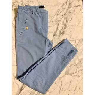 Massimo Dutti Size 34 Blue Trousers