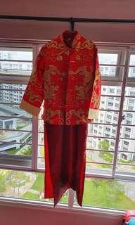 Men Traditional Chinese Costume Kua