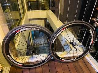 Wheelsport Carbon Wheelset with Ultegra 11-spd Cassette and Schwalbe Lugano Tyres