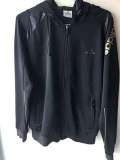 Adidas jacket and travel/gym bag set