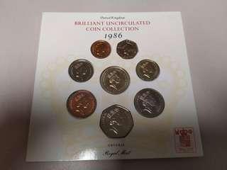 1986年錢幣
