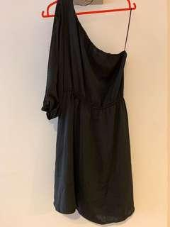Cotton On - One shoulder Black Dress