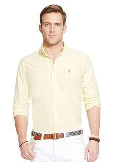 Ralph Lauren Yellow Long Sleeve