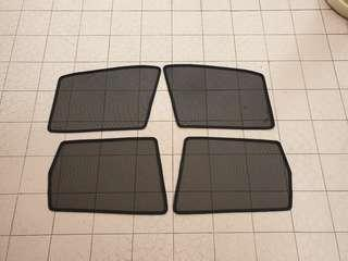 Honda jazz fit GE and HYBRID CUSTOM fit magnetic window shade 4pcs set
