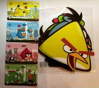 MTR x Angry Birds 紀念車票