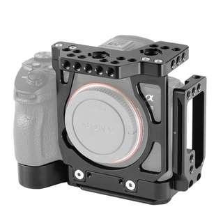 SmallRig Half Cage with Arca L-Bracket for Sony A7III A7RIII