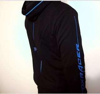 DXRACER LED light up hoodie blue red green yellow