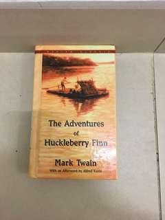 The Adventures of Huckleberry by Mark Twain