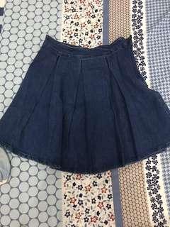 Flare Skirt Jeans