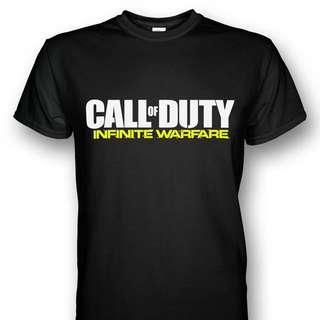 全新 Call of Duty Infinite Warfare 決勝時刻 使命召喚T-Shirt PS4
