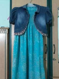 Dress kemben panjang