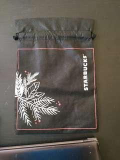 Starbucks Gift Bag for Tumbler Black Holiday Season Edition