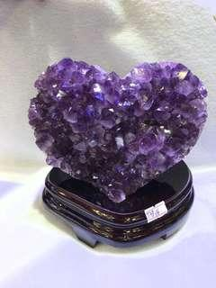 巴西紫晶簇