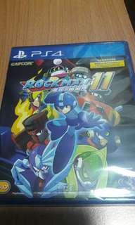 PS4 全新 ROCKMAN 洛克人11: 命運的齒輪 中日英文版