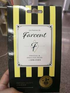 【Farcent】香水衣物香氛袋-小蒼蘭&英國梨(10gx3袋/盒)