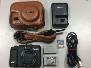 🚚 Canon Powershot G16類單眼相機
