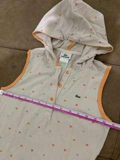 Auth new hoodie lacoste shirt for her
