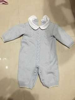 Italy made Baby Wool Onesie (6-9mth)