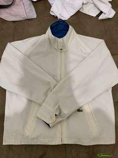 Reversible lacoste rare vintage jacket