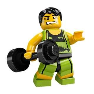 Lego Minifigures (CMF) Series 2 - Weightlifter