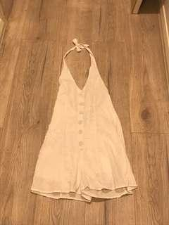 Glassons White playsuit