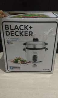 Rice cooker black decker
