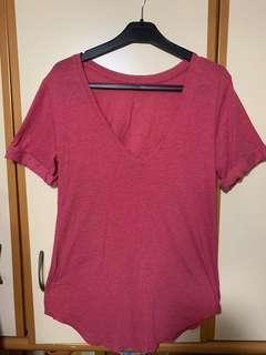 Lululemon short sleeves size 6