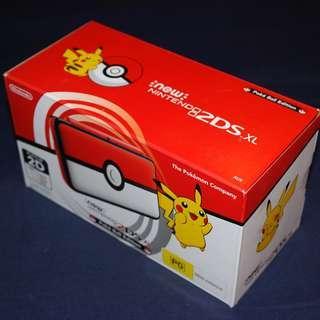 Lastest New 2DS XL Pokeball / PokéBall Edition (PAL - Europe/Oceania Version)