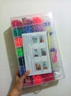 🚚 橡皮筋編織 彩虹橡皮筋
