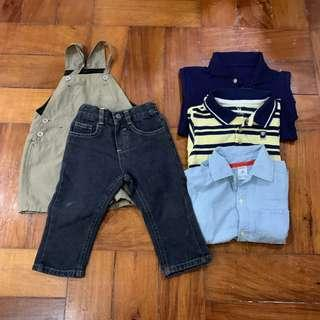 Branded Clothes for 18-24 months old