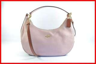 ORIGINAL Coach Bag Harley Blush Terracota Convertible Hobo Bag Brand New and Complete Inclusion Free Shipping and Express Shipping Nationwide