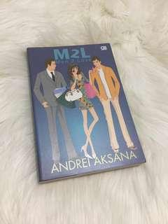 Novel - M2L ( MEN 2 LOVE )