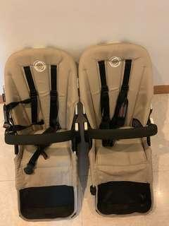 Bugaboo donkey/duo Stroller Seats