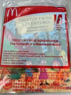麥當勞 開心樂園餐玩具 2019 - tree top twins adventure