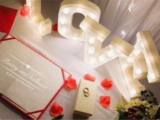 Wedding reception, ROM reception, wedding photography, solemnization set up