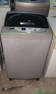 Used sharp washer 7.0kg washing machine mesin basuh fully automatic stainless steel drum in good condition