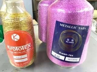 Metallic Yarn made in Japan 缐