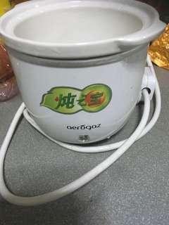 Slow cooking pot