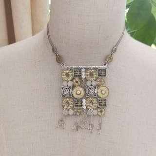復古necklace 頸鏈 丹麥牌子彩粙 全新